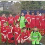 Cambuslang Colts 2005s in new Trust Deed Scotland strip